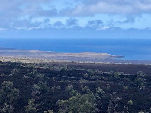 Hawaii acreage with ocean and coastline views