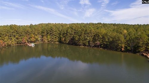 South Carolina Waterfront Building Lot on Lake Monticello