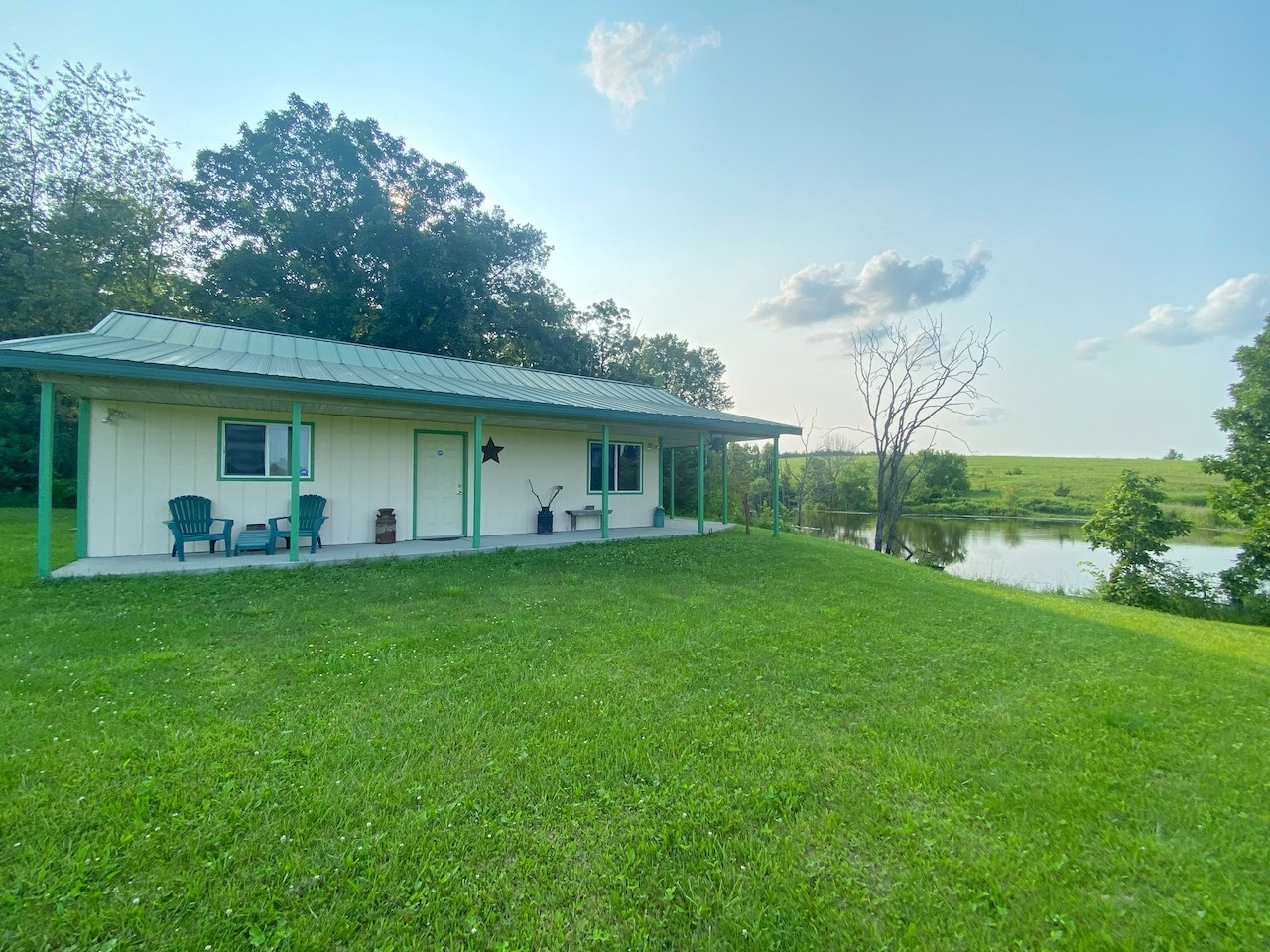 Recreational Property with Cabin For Sale in Southern Iowa