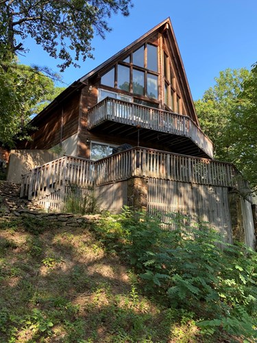 AUCTION OF LAKEFRONT HOME ON GRAND LAKE, DELAWARE COUNTY, OK