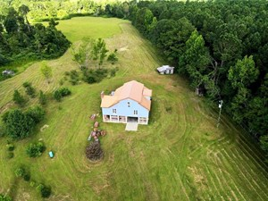 PARTIALLY COMPLETED HOME FOR SALE, 33.62 ACRES IN SW MS