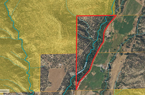 COLORADO VACANT LAND THAT BORDERS PUBLIC LAND AND CREEK