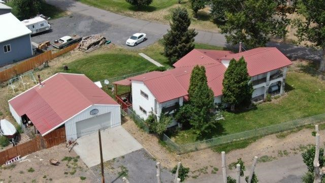 This Spanish type of home is one of a kind in Harney County!