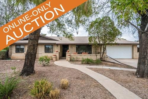 4 BEDROOM MESA AZ ESTATE ORDERED ONLINE HOME AUCTION