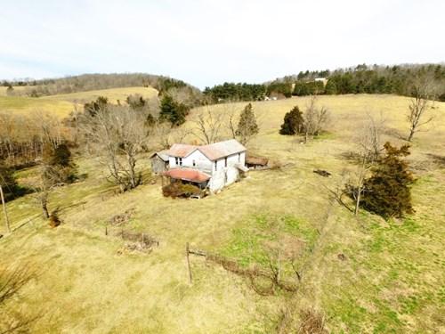 130 Acre Farm near Reed Creek & on New River, Draper, VA.