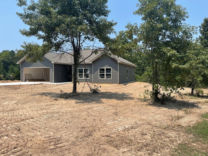 large lot with home