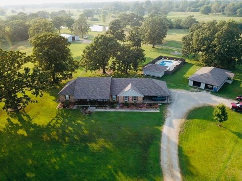 EASTERN OKLAHOMA HOME WITH LAND FOR SALE