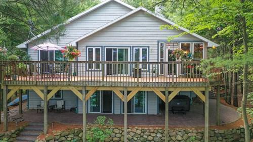 Long Lake, Waushara Co. Home for Sale