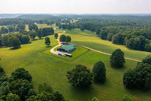 EQUINE FARM FOR SALE WITH ACREAGE IN GILES CO., TENNESSEE