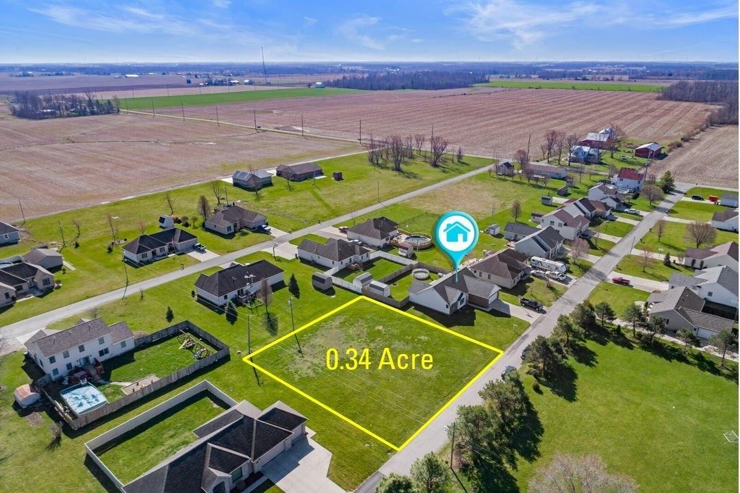 Building Lot for Sale Parker City, Indiana