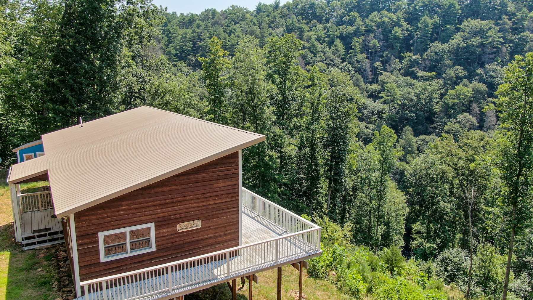 Mountain Home for Sale with Creek Frontage in Max Meadows VA