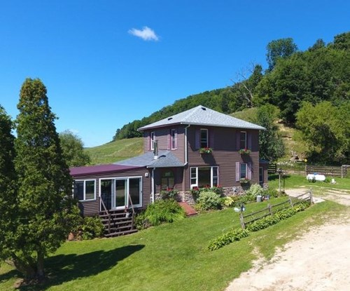 Hobby Farm or Country Home for sale on over 12 acres in WI