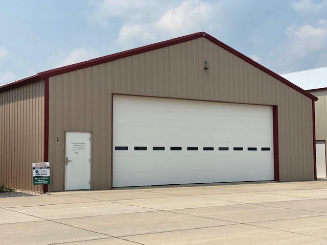 AIRPLANE HANGER FOR SALE AT CAMERON MO MUNICIPAL AIRPORT