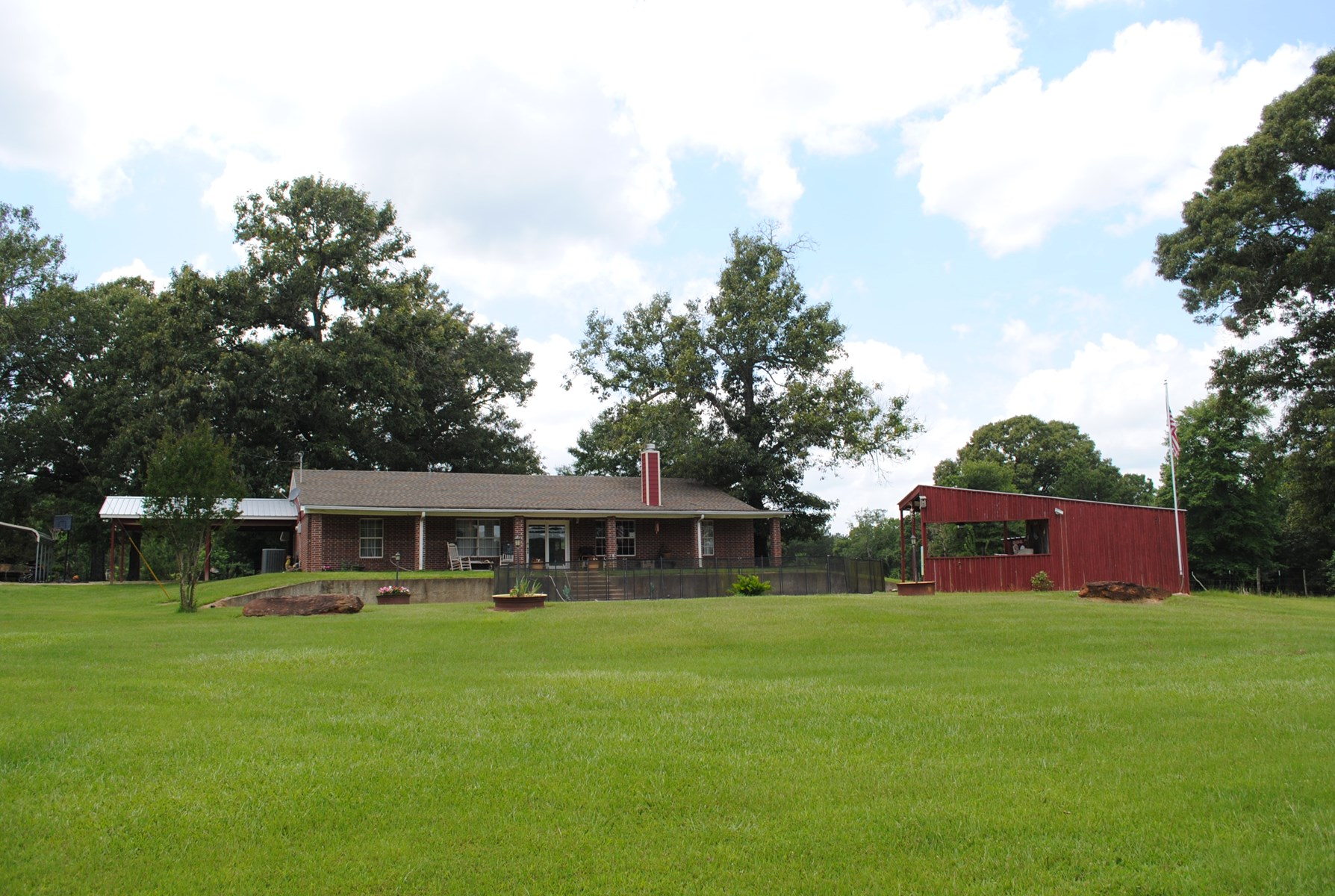 Home For Sale Troup Tx Cherokee County Acreage Equine