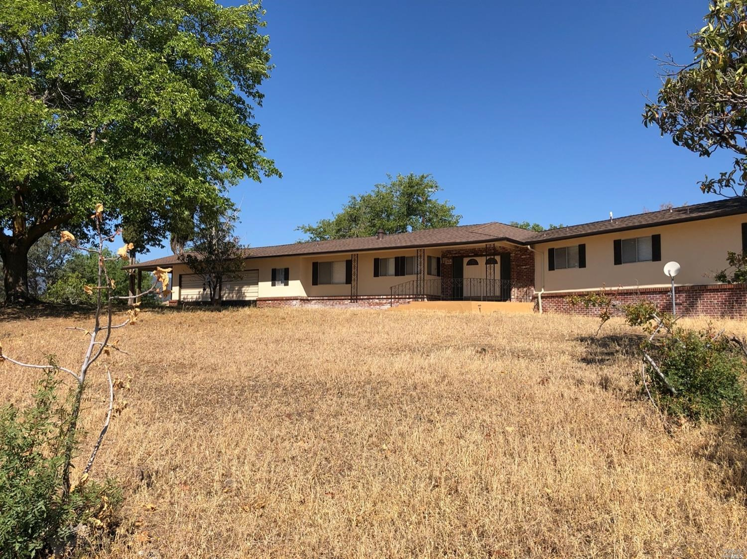 Solano County Ranch Home and Acreage For Sale
