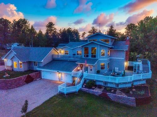 Colorado Mountain Home For Sale in Teller County, CO