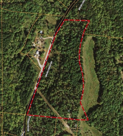 Hunting Land with Acreage for Sale in Lawrence County, TN