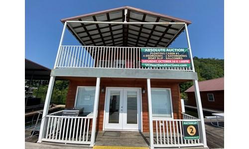 Floating Cabin, Green River Lake Campbellsville, KY For Sale