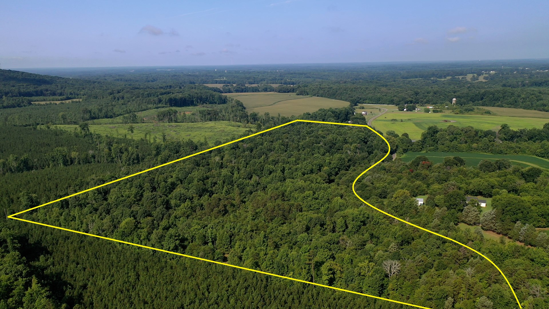 Secluded Wooded Land with Homesite in Rowan County NC