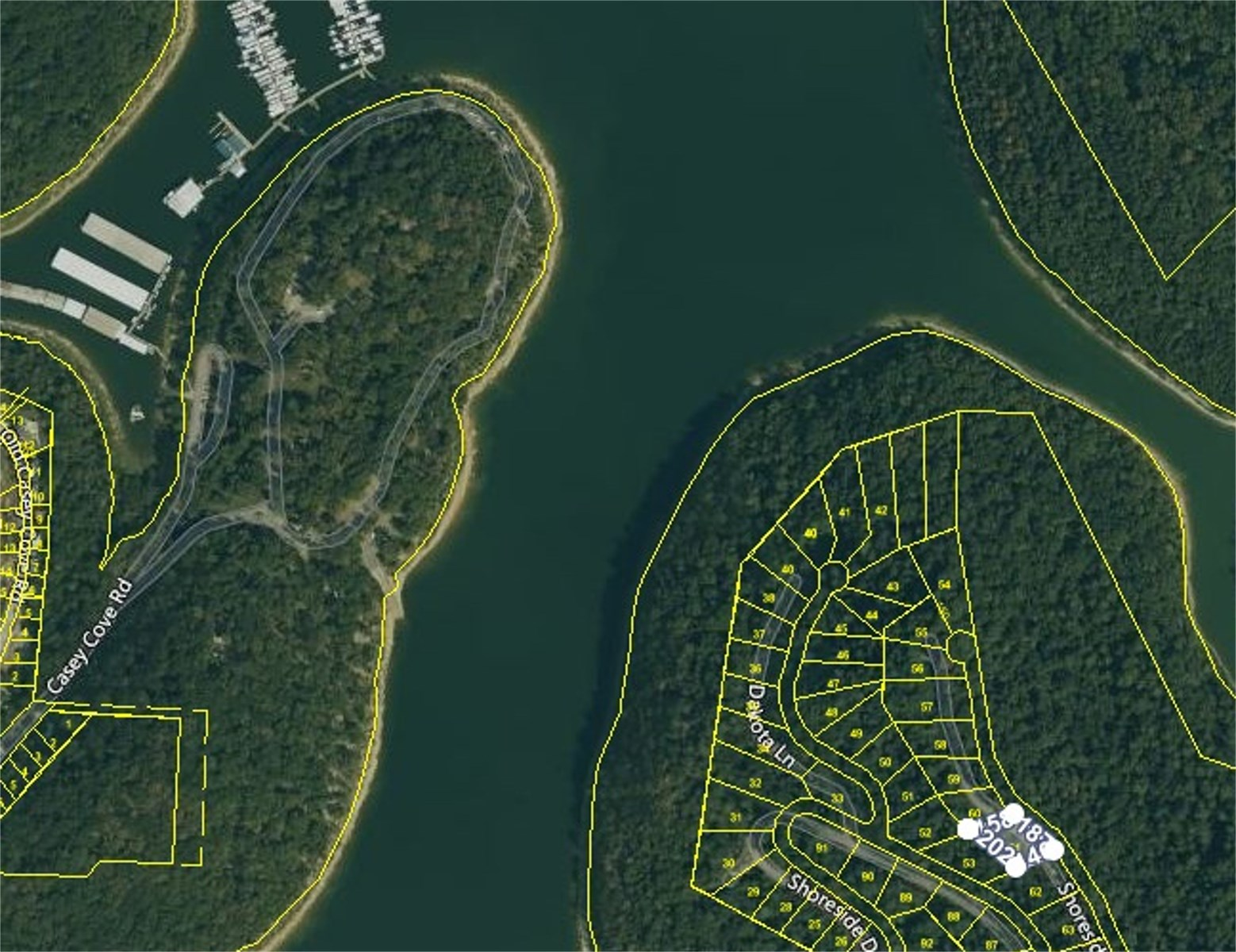 Skylar Dr Smithville TN lake view lot for sale