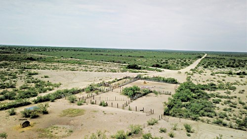 Large west Texas hunting ranch for sale near Pandale, Texas