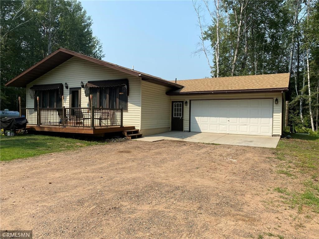One Level Home for Sale on Acreage in Hinckley, MN