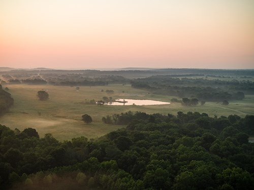 SE Oklahoma Sporting & Cattle Ranch for Sale in Pittsburg Co