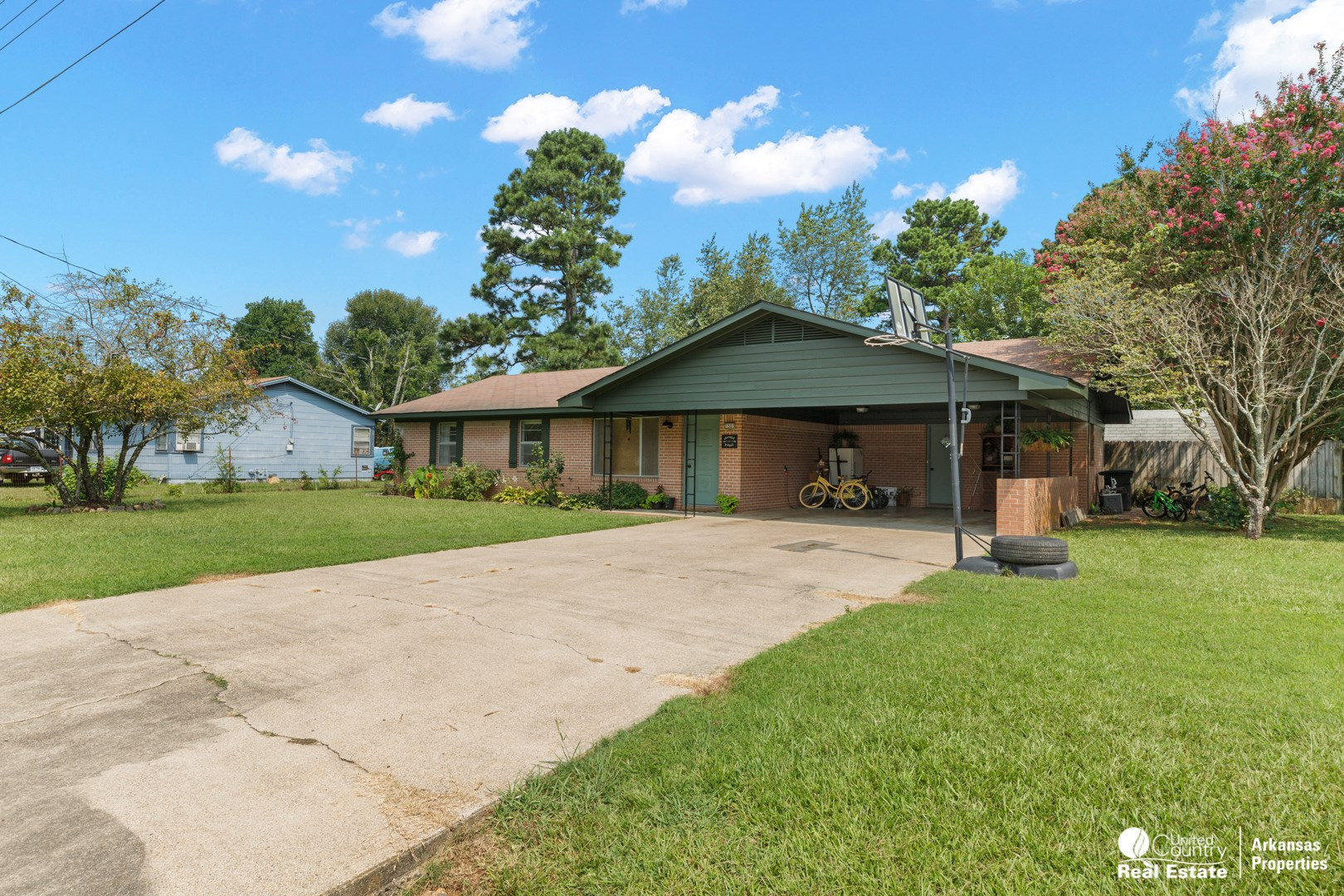 Brick Home for Sale in Mena, Arkansas