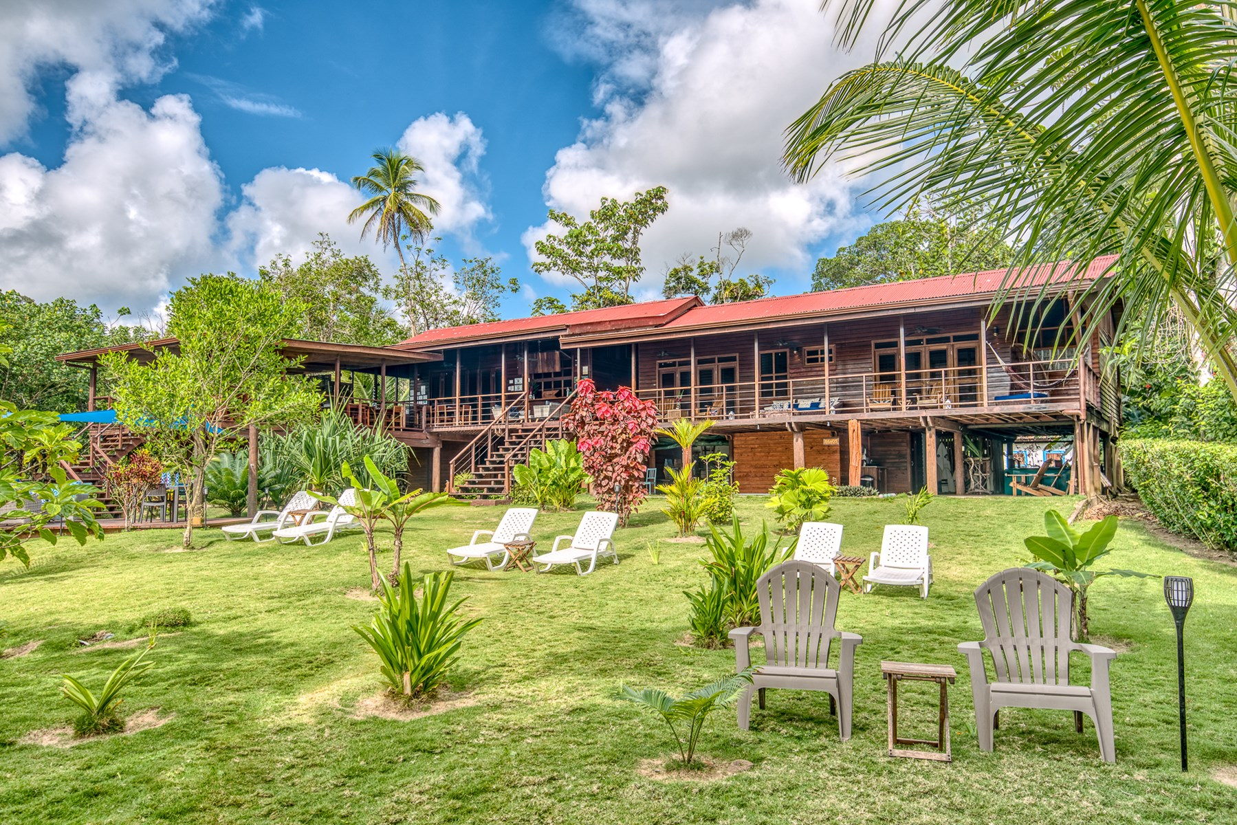 Titled Beachfront Bed & Breakfast and Restaurant