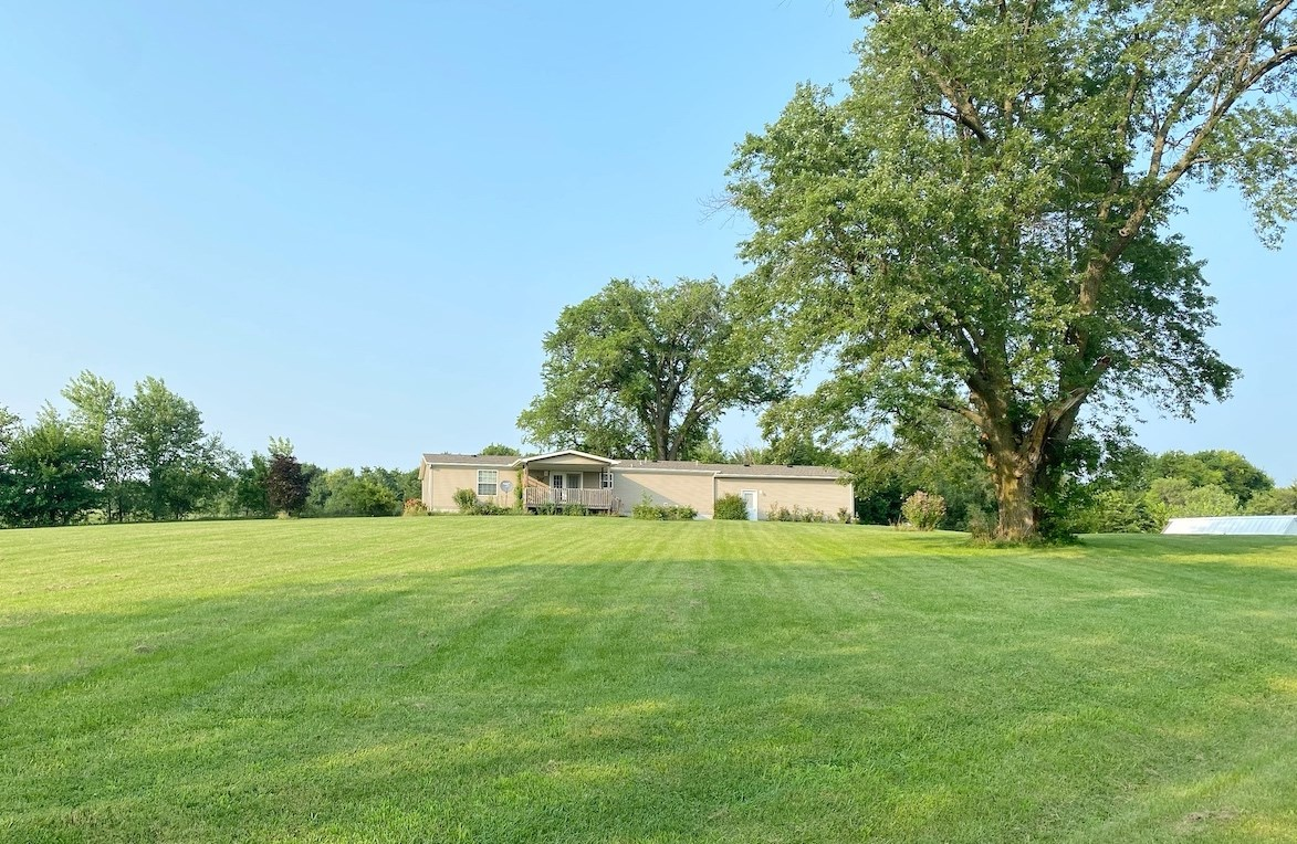 Farm For Sale with House in the Country in Southern Iowa