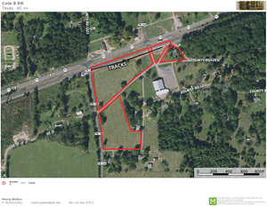COMMERCIAL PROPERTY WITH RAIL SPUR
