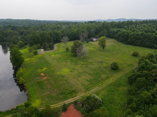 2 RANCH STYLE HOMES - 94 AC - 6 ACRE LAKE - HENRY COUNTY, VA