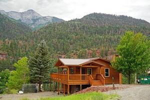 MOUNTAIN HOME FOR SALE, OURAY, COLORADO