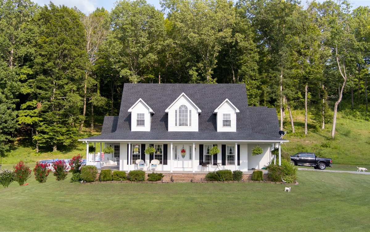 Beautiful Country Home on 18.27 +/- Acres in Monroe Co, KY