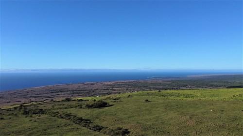 Big Island Hawaii land with oceanviews in coffee belt