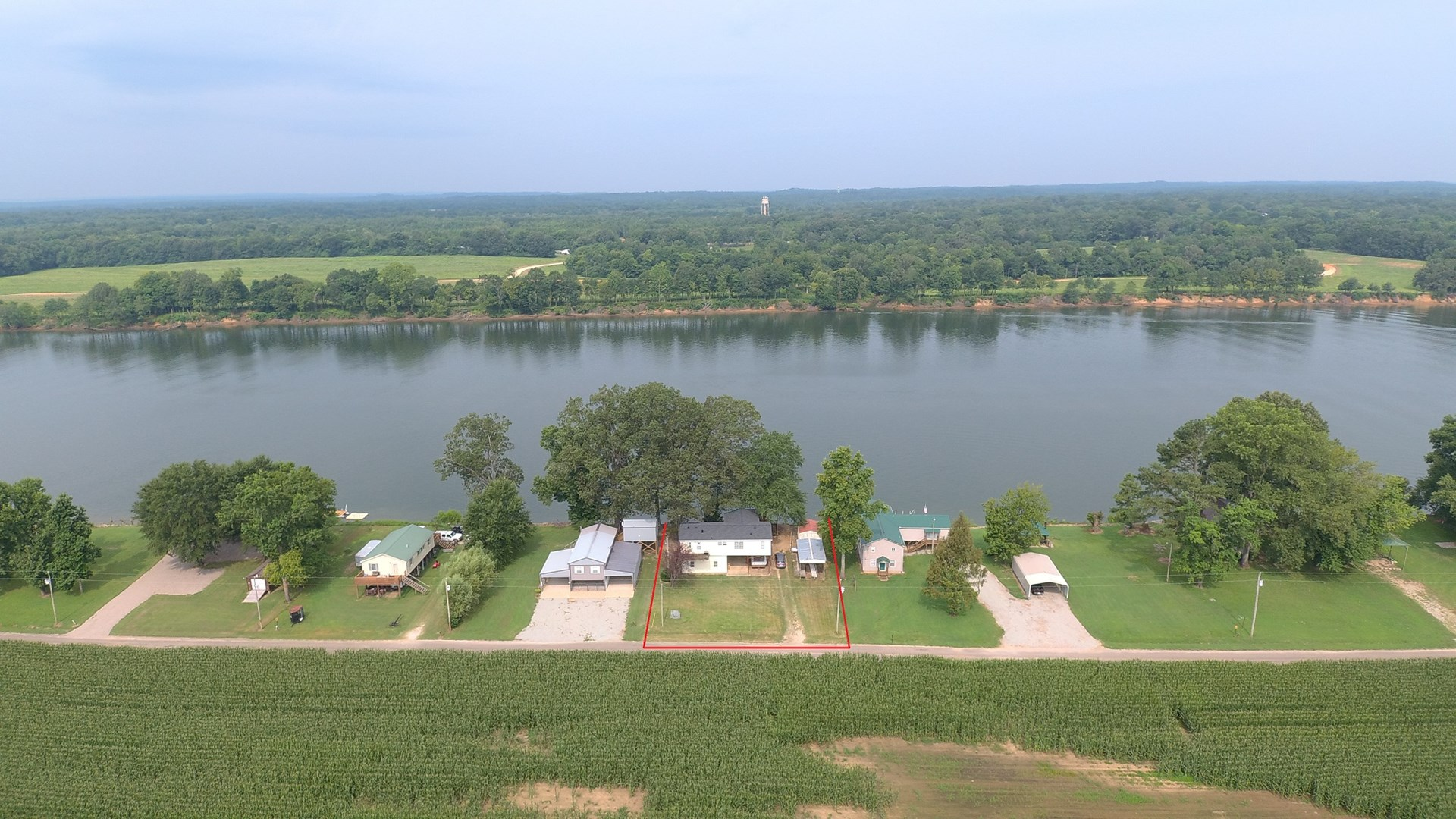 TENNESEE RIVER FRONT HOME FOR SALE IN HARDIN COUNTY
