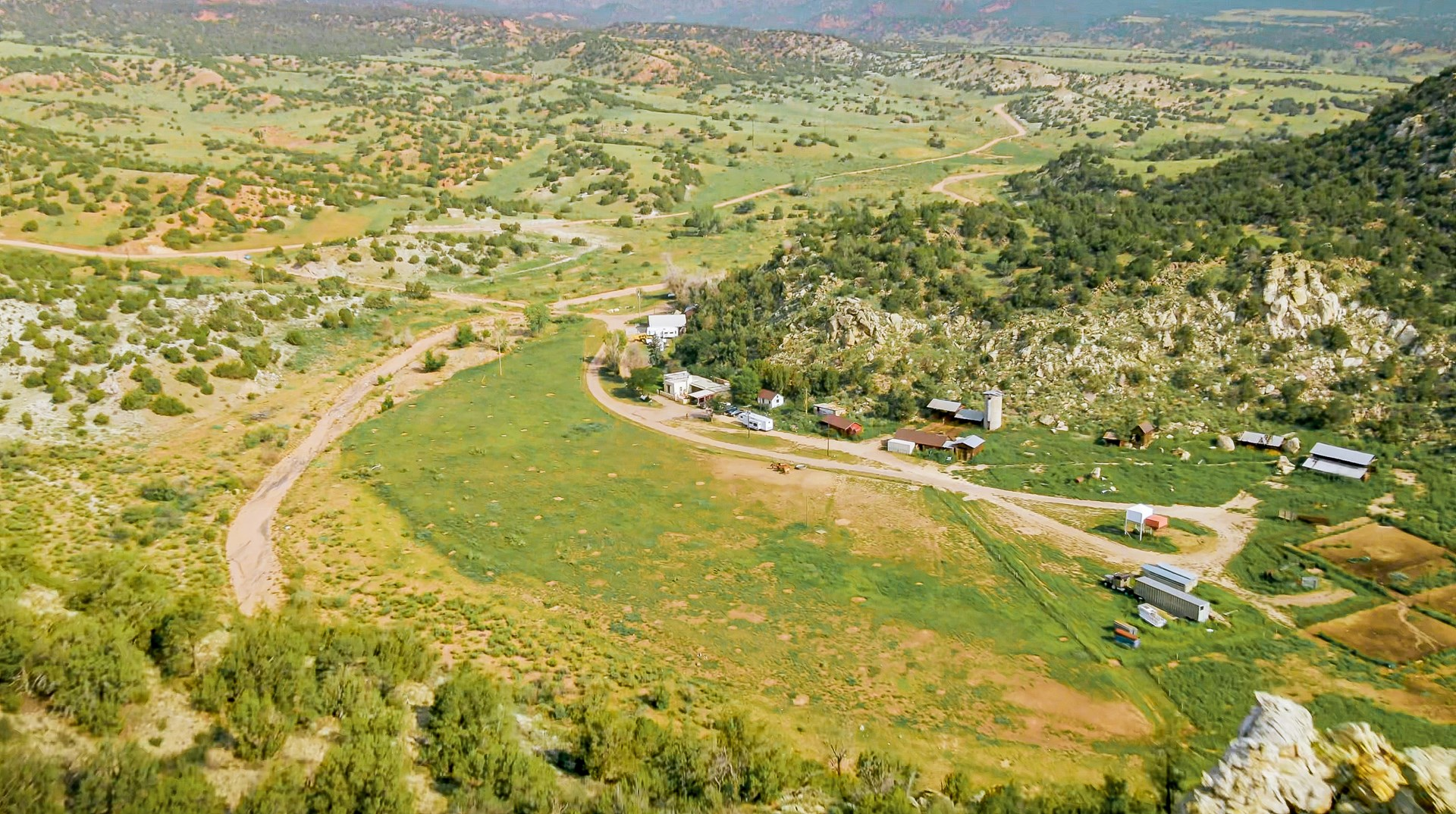 COLORADO HOMESTEAD RANCH WITH 3 SIDES BLM IN CANON CITY , CO