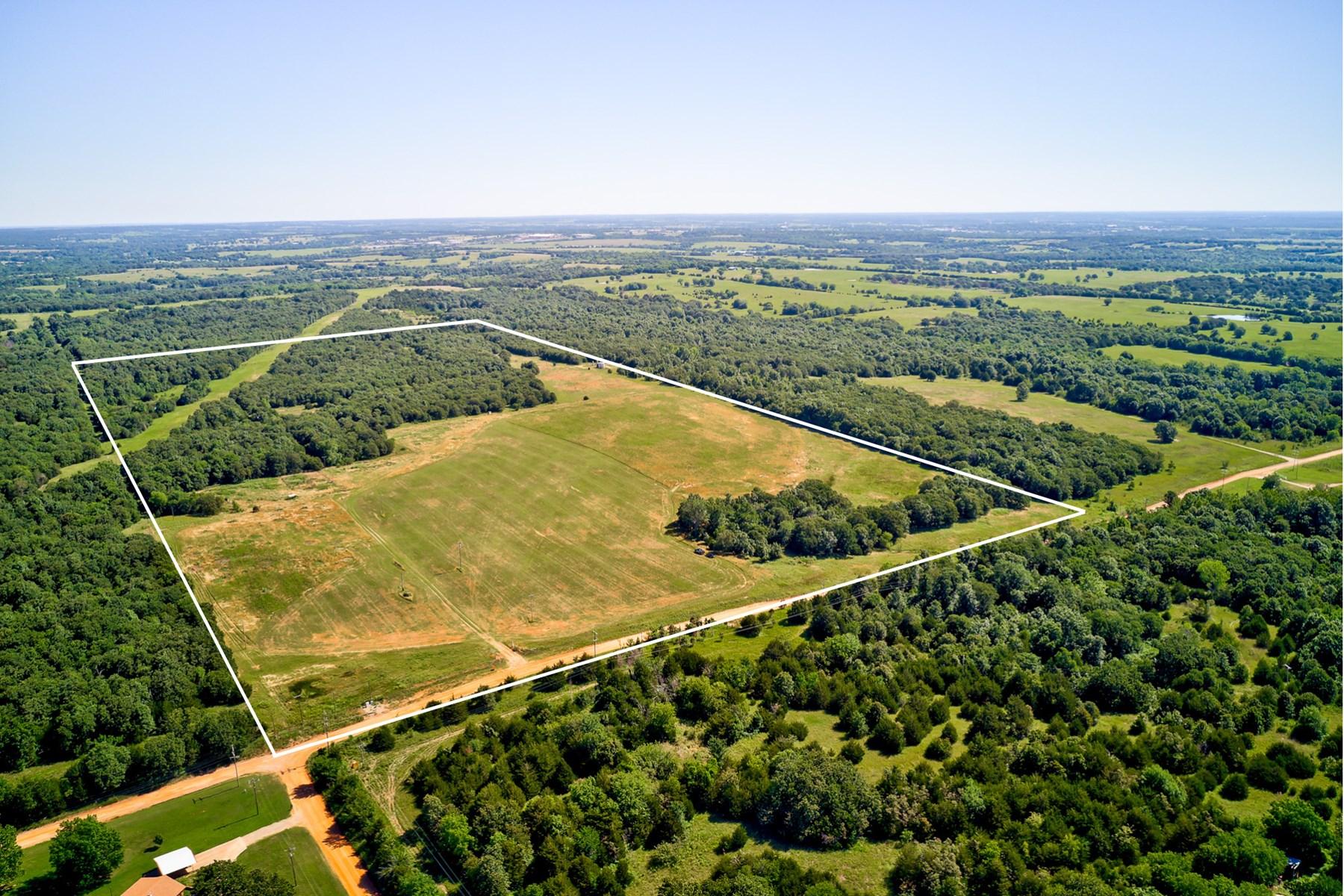 77 Acres mol - Hunting, Homesites, Pond, Rural Water!