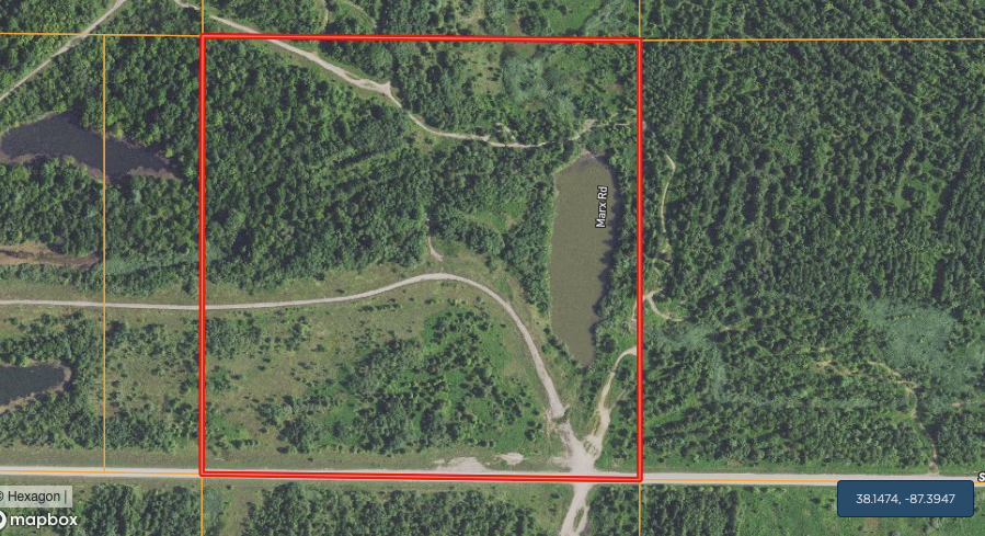 Warrick County Indiana Hunting and Recreation Land for Sale