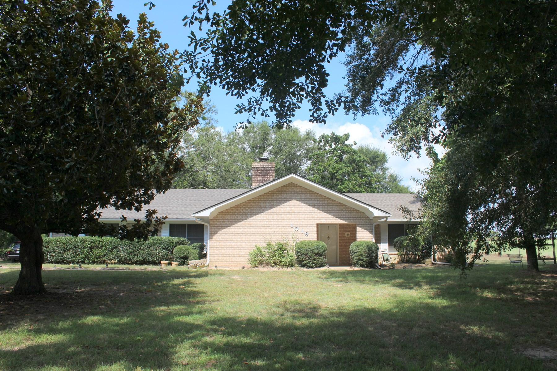 3BR-2BA-2CG BRICK HOME WINNSBORO, TEXAS FRANKLIN COUNTY TX