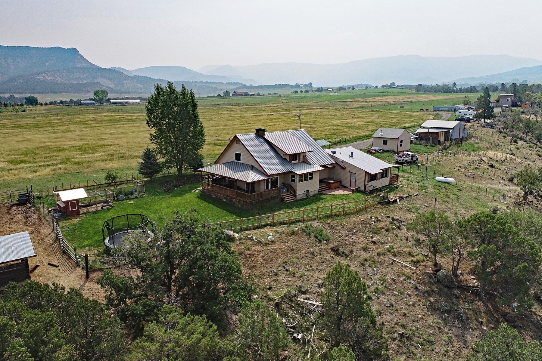 Home, Irrigation, Hay Production, & Guest Quarters for Sale
