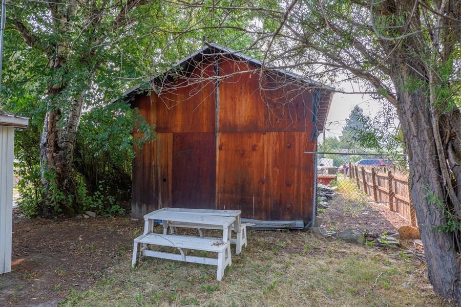 Side Yard/ back of garage
