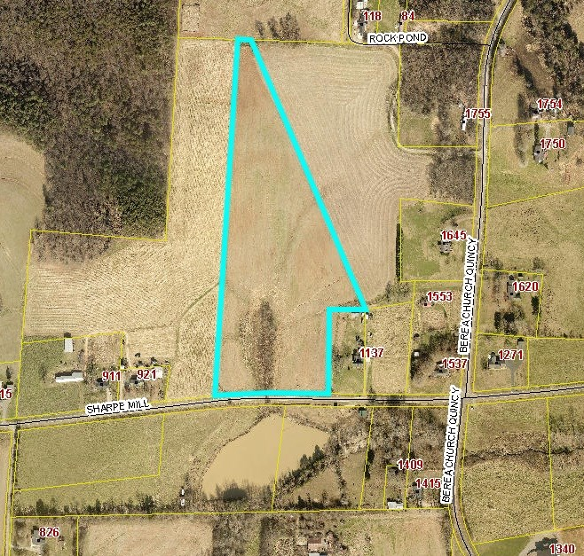 16.5 Unrestricted Acres for Sale In Hiddenite NC! NO HOA