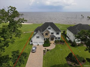 BEAUTIFUL HOME IN GATED COMMUNITY ON ALBEMARLE SOUND