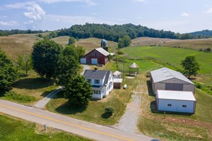 GALLIA COUNTY OHIO FARM FOR SALE 190 ACRES