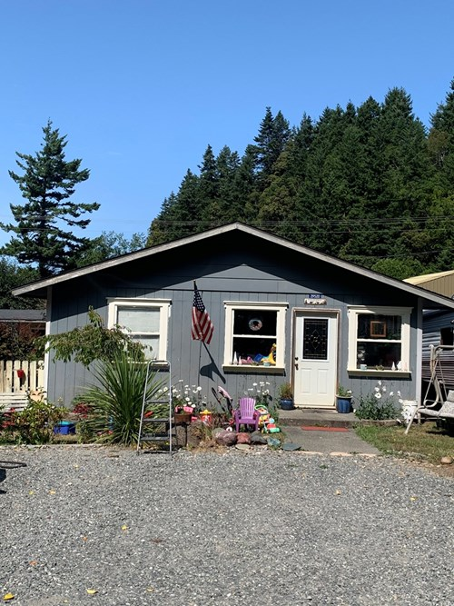 Income property for sale in Gold Beach, Oregon.