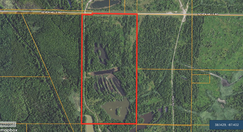 Warrick County Hunting & Recreational Property w/ Lakes
