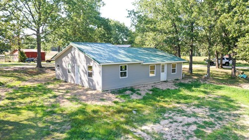 Updated 3 bedroom home in R-80 School with on 4.9 acres