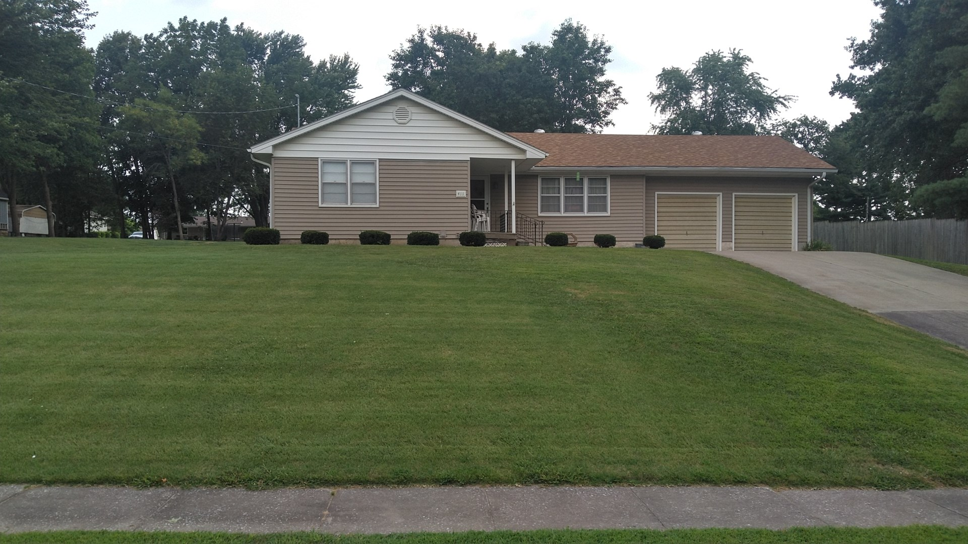 Charming home for sale in Marshall, MO