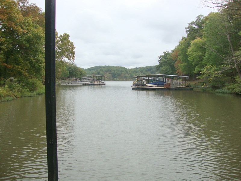 View toward cove from dock
